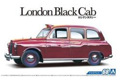 Aoshima 1/24 Black London Cab 1968 image