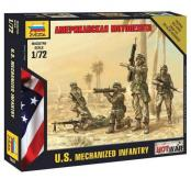 Zvezda 1/72 U.S. Mechanzied Infantry image