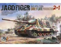 Takom 1/35 Jagdtiger Early/Late 2N1 image