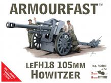 Armourfast 1/72 LeFH18 105mm Howitzer image