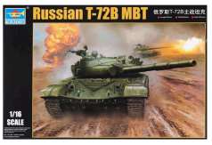 Trumpeter 1/16 Russian T-72B MBT image