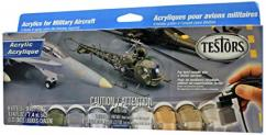 Testors Military Aircraft Acrylic Paint Set image