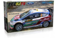 Belkits 1/24 Ford Fiesta RS WRC Rally Car 2011 image