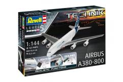 Revell 1/144 Airbus A380-800 - Technik Model image