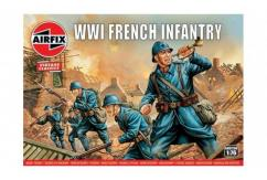 Airfix 1/76 WWI French Infantry image