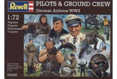 Revell 1/72 Pilots & Ground Staff - Luftwaffe WWII image