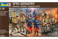 Revell 1/35 WWI Infantry (1914) image