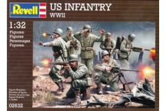 Revell 1/32 US Infantry WWII image