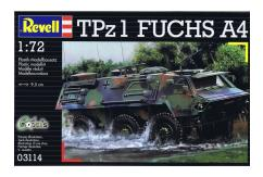 Revell 1/72 TPz 1 Fuchs A4 Modern German Army image