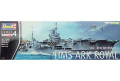 Revell 1/720 HMS Ark Royal & Tribal Class Destroyer image