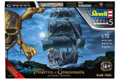 Revell 1/72 Black Pearl Pirate Ship image
