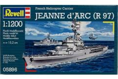 Revell 1/1200 Jeanne D'Arc French Heli Carrier image