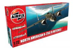 Airfix 1/72 North American B-25C/D Mitchell image
