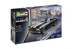 Revell 1/24 Chevy Chevelle 1968 image