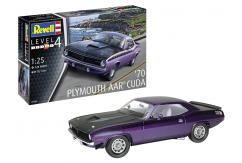 Revell 1/24 Plymouth AAR Cuda 1970 image