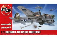 Airfix 1/72 Boeing B-17G Flying Fortress with Extra Decals image