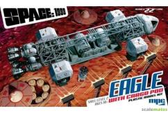 MPC 1/72 Space 1999 Eagle Transporter with Cargo Pod image