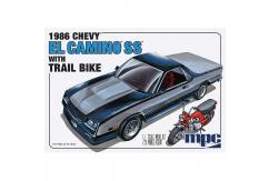 MPC 1/25 1986 Chevy El Camino SS w/Dirt Bike image