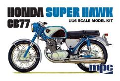 MPC 1/16 Honda Super Hawk Motorcycle image