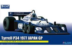 Fujimi 1/20 Formula 1 Tyrrell P34 Japan GP 1977 Long Wheel Version image