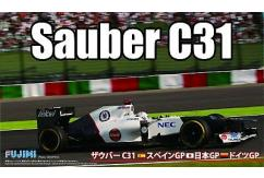 Fujimi 1/20 Sauber C31 F1 Car 2012 - Japan / Spain / German GP image