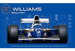 Fujimi 1/20 Williams Renault FW16 San Marino GP 1994 image