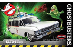 Polar Lights 1/25 Ghostbusters Ecto 1 w/Slimer Figure - Snap Kit image