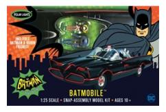 Polar Lights 1/25 Batmobile 1966 - SNAP Kit image