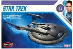 Polar Lights 1/1000 Star Trek NX-01 USS Enterprise - SNAP Kit image