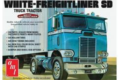 AMT 1/25 White Freightliner Single Drive Tractor image