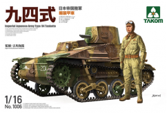 Takom 1/16 Japanese Imperial Army Type 94 Tank image