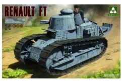 Takom 1/16 French Light Tank Renault FT-17 image
