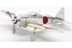 Tamiya 1/72 A6M5 Zero Fighter (Zeke) Plated image