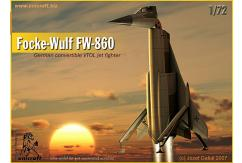 Unicraft Models 1/72 Focke-Wulf FW-860 (Resin) image