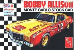 AMT 1/25 Coca-Cola Bobby Allison 1972 Chevy Monte Carlo Stock Car image