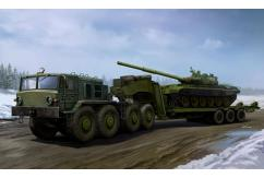 Trumpeter 1/35 MAZ-537G with Semi Trailer image