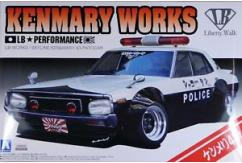 Aoshima 1/24 LB Works Kenmary 4 Door Patrol Car image