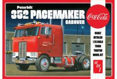 AMT 1/25 Peterbilt 352 Pacemaker Cabover - Coca Cola image
