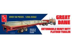 AMT 1/25 Great Dane Extendable Flat Bed Trailer image
