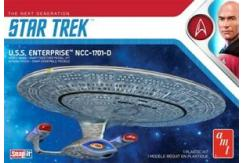 AMT 1/2500 Star Trek USS Enterprise-D - SNAP Kit image