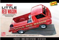 Lindberg 1/25 Dodge Little Red Wagon Kit image