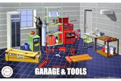 Fujimi 1/24 Garage and Tool Set image