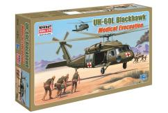 Minicraft 1/48 UH-60L Blackhawk Medivac Helicopter image