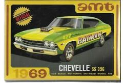 AMT 1/25 1969 Chevy Chevelle Hardtop image