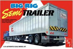 AMT 1/25 Big Rig Semi Trailer image