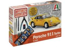 Italeri 1/24 Porsche 911 Turbo Model Set with DVD image