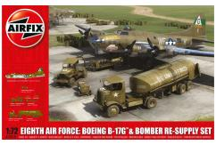 Airfix 1/72 Eighth AirForce ReSupply Set image