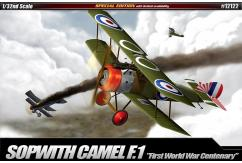 Academy 1/32 100th Anniversary Sopwith Camel F-1 image