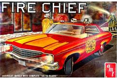 AMT 1/25 Chevy Impala Fire Chief 1970 image