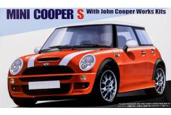 Fujimi 1/24 Mini Cooper S w/John Copper Works Kit image